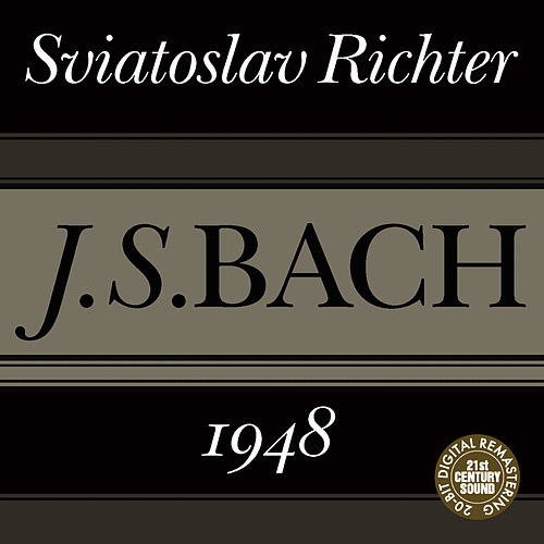 Bach: English Suite No. 3, Italian Concerto in F Major and Fuge in A Minor by Sviatoslav Richter