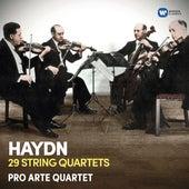 Haydn: 29 String Quartets by The Pro Arte Quartet