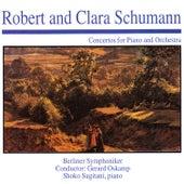 Robert & Clara Schumann: Concertos for Piano & Orchestra by Shoko Sugitani