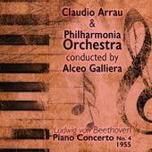 Ludwig van Beethoven - Piano Concerto No. 4 (1955) by Claudio Arrau
