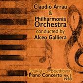Ludwig van Beethoven - Piano Concerto No. 5 (1958) by Claudio Arrau