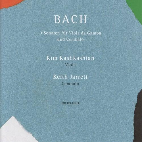 Bach: Drei Sonaten für Viola da Gamba und Cembalo by Keith Jarrett