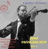 Zino Francescatti, Vol. 1 by Zino Francescatti