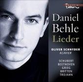 Vocal Recital (Lieder): Behle, Daniel - SCHUBERT, F. / BEETHOVEN, L. van / GRIEG, E. / BRITTEN, B. / TROJAHN, M. by Daniel Behle