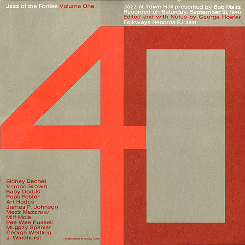 Play & Download Jazz of the Forties, Vol. 1: Jazz at Town Hall by Various Artists | Napster