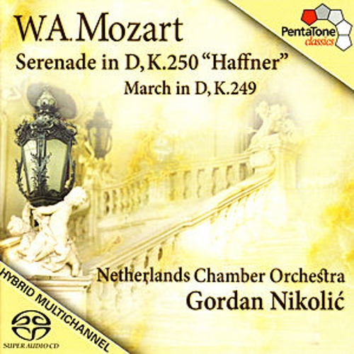 Play & Download Mozart: Serenade and March in D by Netherlands Chamber Orchestra | Napster