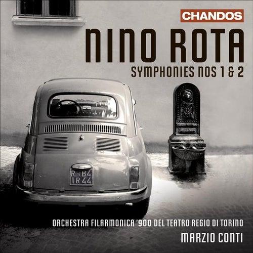 Play & Download ROTA, N.: Symphonies Nos. 1-2 (Torino Regio Theatre Orchestra, Conti) by Marzio Conti | Napster