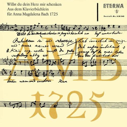 Play & Download Bach: Klavierbüchlein für Anna Magdalena Bach 1725 by Various Artists | Napster