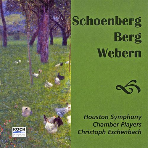 Eschenbach, Christoph: Music Of Schoenberg, Webern And Berg by Christoph Eschenbach (piano) Houston Symphony Chamber Players