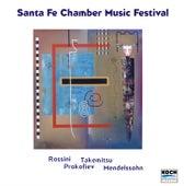 Santa Fe Chamber Music Festival - Music Of Mendelssohn, Prokofiev, Takemitsu, Rossini by Eddie Daniels