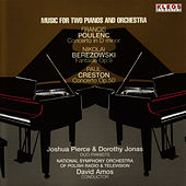 Play & Download Music for Two Pianos and Orchestra by Joshua Pierce | Napster