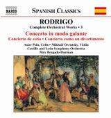 Complete Orchestal Works 3 by Joaquin Rodrigo