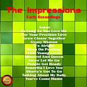 Early Recordings von The Impressions
