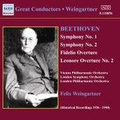Symphonies Nos. 1 and 2 by Ludwig van Beethoven