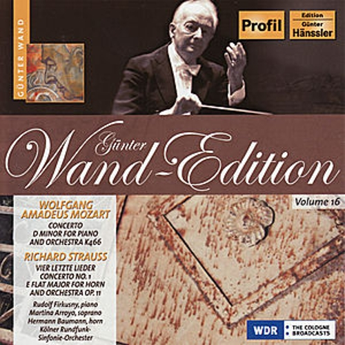 Günter Wand Edition, Vol. 16 by Kölner Rundfunk Sinfonie Orchester