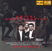 Shostakovich: Piano Trios Nos. 1 & 2, Symphony No. 15 by Trio Opus 8