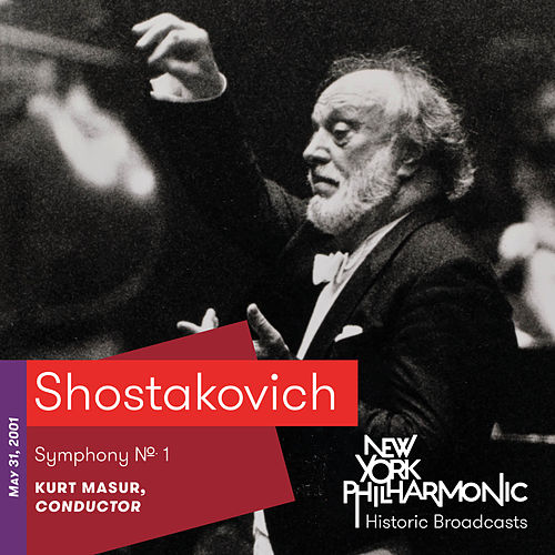 Shostakovich: Symphony No. 1 by New York Philharmonic