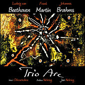 Beethoven, Martin & Brahms by Trio Arc