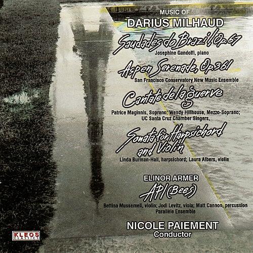 Music of Darius Milhaud by Various Artists
