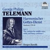 Telemann: Harmonischer Gottes-Dienst, Vol. 2 - Six Cantatas by Bergen Barokk