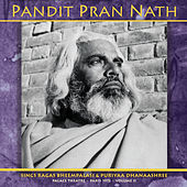 The Raga Cycle, Palace Theatre, Paris 1972, Volume II by Pandit Pran Nath