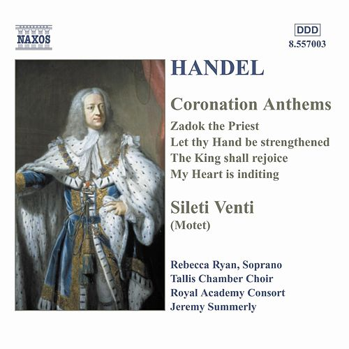 Coronation Anthems by George Frideric Handel