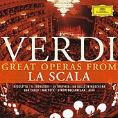 Play & Download Verdi: Great Operas from La Scala by Various Artists | Napster
