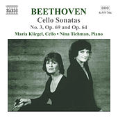Cello Sonatas No. 3 Op. 69 and Op. 64 by Ludwig van Beethoven