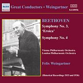 Symphonies 1 and 3 by Ludwig van Beethoven