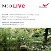 MSO Live - Wagner, Delius & Elgar (Live) by Sir Charles Mackerras