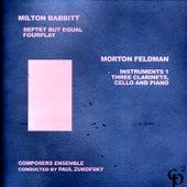 Milton Babbitt/Morton Feldman by Various Artists