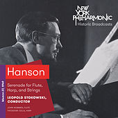 Hanson: Serenade for Flute, Harp, and Strings by Theodore Cella