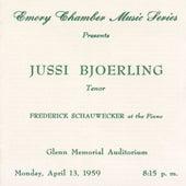 The Atlanta Recital, 13 April 1959, Glenn Memorial Auditorium by Jussi Björling