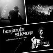 Instantanés du 11/04/09 de Benjamin Siksou