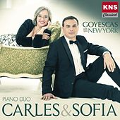 Carles & Sofia Piano Duo. Goyescas in New York by Carles Lama