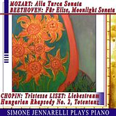 Mozart: Alla Turca Sonata - Beethoven: Für Elise, Moonlight Sonata - Chopin: Tristesse Etude - Liszt: Liebestraum, Hungarian Rhapsody No. 2, Totentanz by Simone Jennarelli
