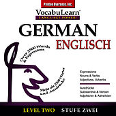 Vocabulearn ® German - English Level 2 by Inc. Penton Overseas