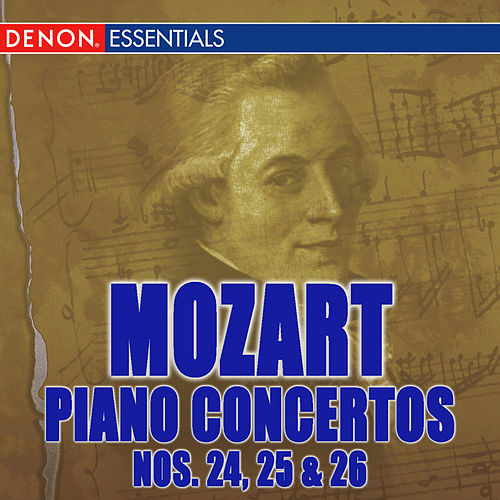 Mozart: Piano Concertos Nos. 24-26 by Various Artists