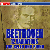 Beethoven: 12 Variations for Cello and Piano by Dieter Goldmann