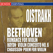 Beethoven: Romance for Piano - Chausson: Poem for Violin - Haydn: Violin Concerto by Various Artists