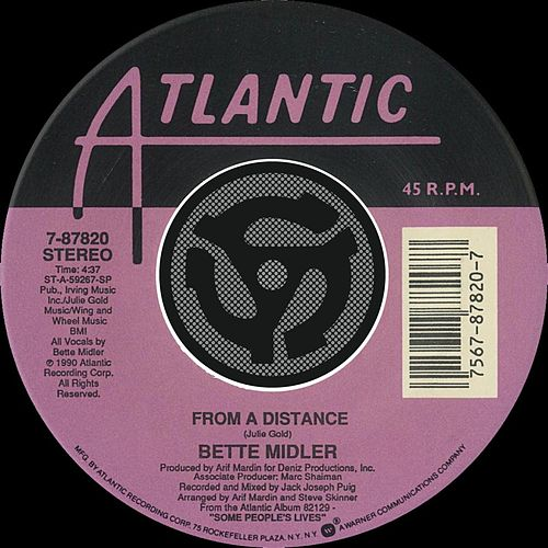 From A Distance / One More Round [Digital 45] by Bette Midler