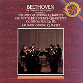 Play & Download Beethoven: The Middle String Quartets by Juilliard String Quartet   Napster