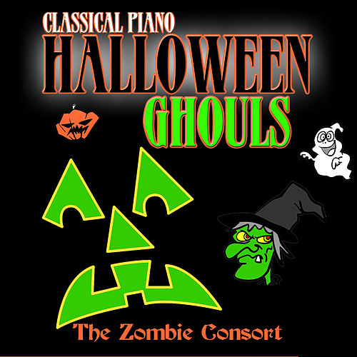 Classical Piano Halloween Ghouls by Juliana Pristaj