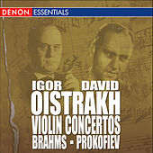 Play & Download Brahms: Concerto for Violin & Orchestra, Op. 77 - Prokofiev: Concerto for Violin & Orchesta, Op. 19 by Moscow RTV Symphony Orchestra | Napster