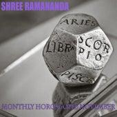 Monthly Horoscopes November by Shree Ramananda