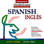 Vocabulearn ® Spanish - English Level 3 by Inc. Penton Overseas