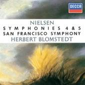 Nielsen: Symphonies Nos. 4 & 5 by Herbert Blomstedt