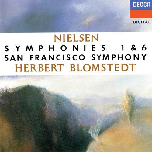 Nielsen: Symphonies Nos. 1 & 6 by Herbert Blomstedt