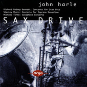 Sax Drive - Myers, Bennett & Torke: Saxophone Concertos by Various Artists