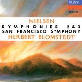Nielsen: Symphonies Nos. 2 & 3 by Herbert Blomstedt